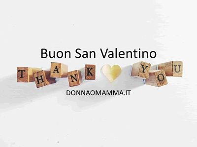 Buon San Valentino Thank You